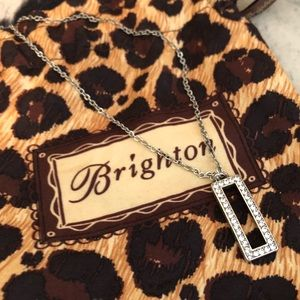 NWT Brighton necklace with bag